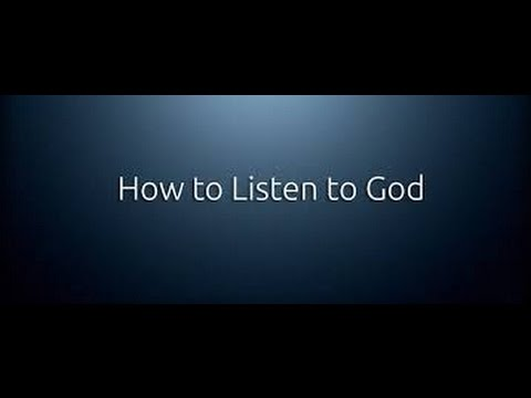 Xxx Mp4 How To Hear The Voice Of God Almighty Jesus Christ Listen To The Holy Spirit 3gp Sex