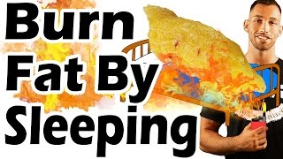 How to Lose Belly Fat Overnight While Sleeping   Best Way to Burn Fat While Asleep Fast