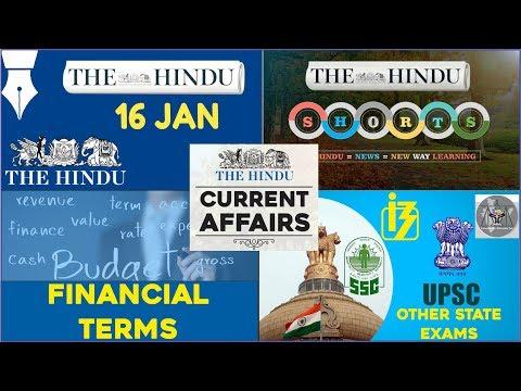 Xxx Mp4 CURRENT AFFAIRS THE HINDU 16th January 2018 UPSC IBPS RRB SSC CDS IB CLAT 3gp Sex