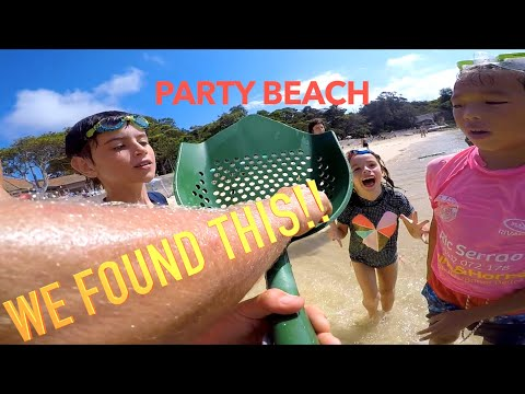 Found EXTREMELY Valuable GOLD Antique TREASURE Famous Party Beach Metal Detecting Owners Found