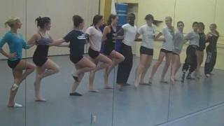 sweet charity overture - musical theatre dance