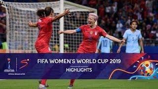 FIFA Women's World Cup | USA vs Thailand | Highlights