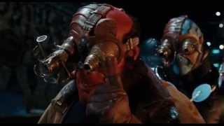 Hellboy II - Bag Lady/Troll Market Scene