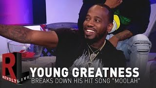 Young Greatness Breaks down his hit song