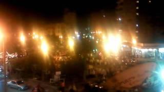 مظاهرات دمنهور بعد استشهاد حرس الحدود الاسرائيلية