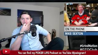 Mike Sexton on losing 500 MILLION DOLLARS selling Party Poker Stock Early!!