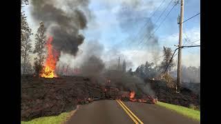 Breaking News: Hawaii volcano eruption seen from SPACE Geothermal plant risks UNPRECEDENTED explosio