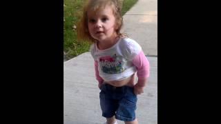 Poor baby went pee pee revised