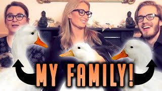 MEET MY FAMILY! - (Fridays With PewDiePie - Part 86)