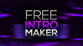 How to Make an Intro for YouTube Videos FOR FREE! No Software/Programs Needed! (2016)