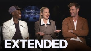 Hemsworth, Larson, Cheadle React To 'Captain Marvel' Passing A Billion At Box Office
