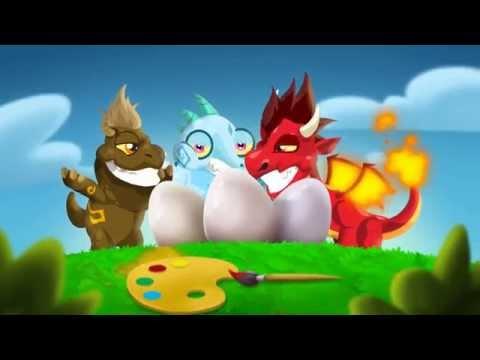 Enjoy Easter in Dragon City