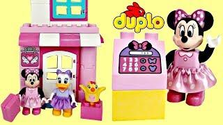 Lego DUPLO Minnie Mouse Daisy Duck Bow-tique Building Set, Shopping Peppa Pig Disney Princess / TUYC