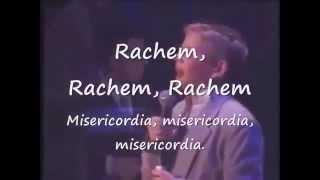 RACHEM RAJEM (MERCY) M Shapiro & Y Shwekey ~ Eng Lyrics too!