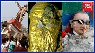 Statue War : Who Is Fuelling Politics Politics Of Vandalism ?   To The Point