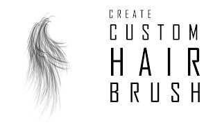 How to Create Hair Brush in Photoshop Part1
