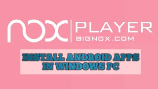 How to Install Android Apps in Windows 7/8/8.1/10 PC & Laptop || Full HD