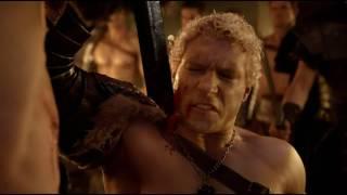 Сериал Спартак. Спартака заставляют убить Варрона. Один из самых тяжелых моментов