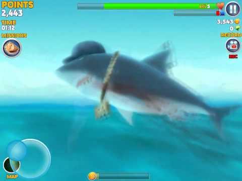 Ate shark boy!