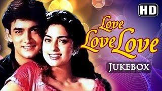 All Songs Of Love Love Love {HD} - Amir Khan - Juhi Chawla - Best Hindi Songs