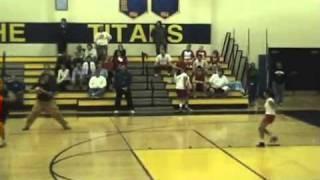 Guy Destroys Girl in Dodgeball FAIL TING