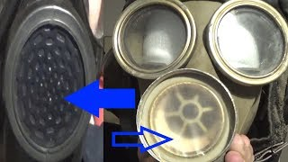 How do Voice Diaphragms work on gas masks?