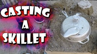 Casting An Aluminum Skillet From Start To Finish