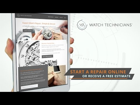 Watch Technicians - Watch Repair Service Center