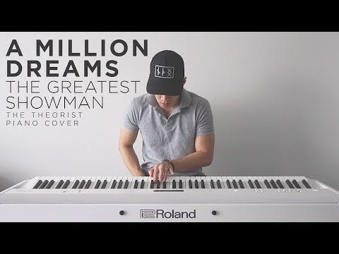 The Greatest Showman (Ziv Zaifman) - A Million Dreams | The Theorist Piano Cover