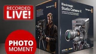 UNBOXING Blackmagic Studio Camera 4K and Amazon Prime Day —PhotoJoseph's Photo Moment 2017-07-11