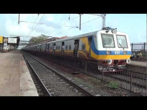 SMOOTH & FAST ACCELERATION BY BEAUTIFUL LOOKING MILLENIUM EMU FROM NAIGAON STATION