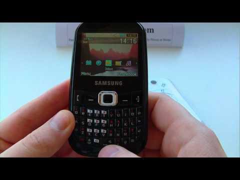 Samsung GT B3210 Corby TXT B3210 Unlock & input enter code.AVI