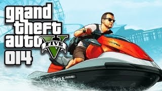 GTA 5 (GTA V) [HD+] #014 - Porno-Party-Crasher & Triathlon ★ Let's Play GTA 5 (GTA V)