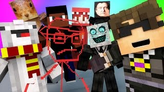 Minecraft Mini-Game : DO NOT LAUGH! (CHIPMUNK FACE AND WHACK A ROSS) w/ Facecam