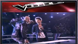 The voice 2015 Battle Keith Sample vs Manny Cabo