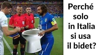 Perché SOLO  in ITALIA si usa il BIDET?!