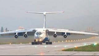 IL-76 TD - sletanje (landing)