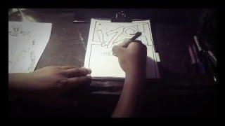 (Time lapse 33) Godzilla vs Kiryu comic strip page 4