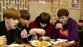 Monsta X (몬스타엑스) Eating Time 먹방 모음