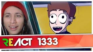 React 1333 O DIA EM QUE EU EXPLODI - CELLBIT ANIMADO