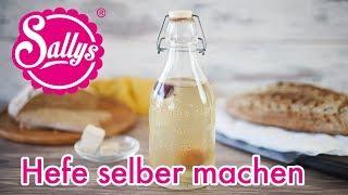 Hefe selber machen / fermentiertes Wasser / Hefewasser