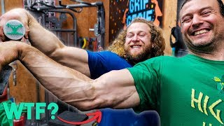 PRO ARM WRESTLER =  GRIP STRENGTH PRO?