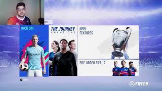 كيف تلعب اونلاين في فيفا 19 ديمو! (العب مع اصحابك بسهولة) | FIFA 19