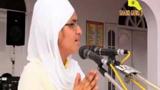 Bibi Gagandeep Kaur Khalsa ji paso suno punj Piaye kina da Satkat hai