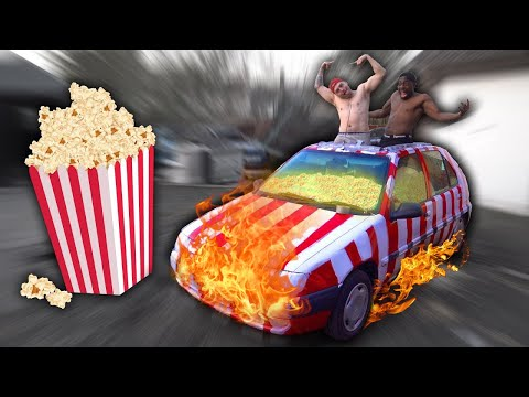Turning A Car Into A Popcorn Machine