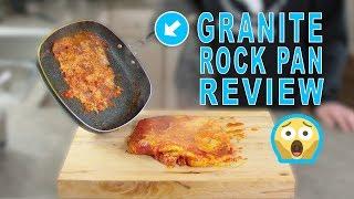 Granite Rock Frying Pan Review | WILL IT STICK? Let