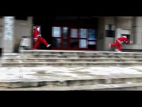 Santa Claus comes to Romania