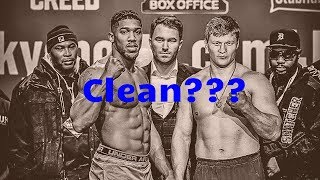 """JOSHUA/POVETKIN ENROLL IN VADA TESTING & FIGHT FANS FAKE LOVE FOR """"FIGHTER SAFETY"""""""