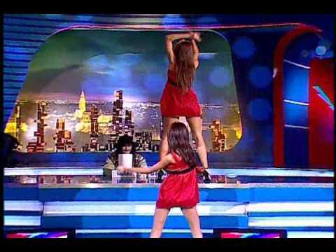 Bebeluse Cristina Zegan si Alexandra Toma Dans 2