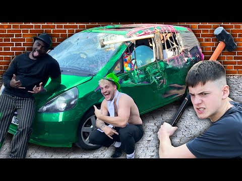 Break Into This LOCKED Car To WIN What s Inside Challenge